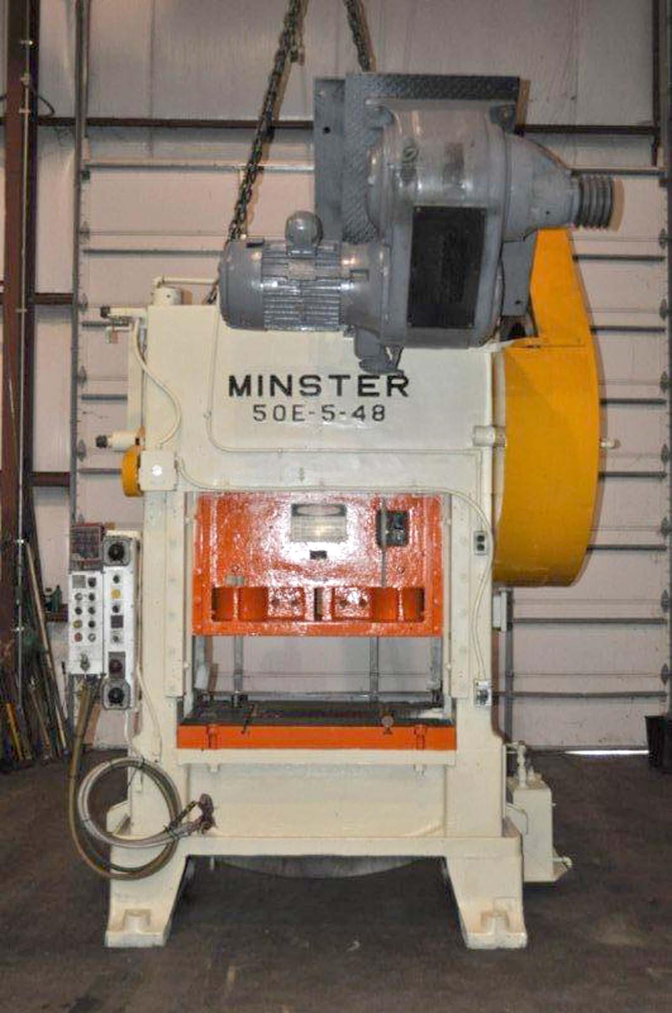 Minster # 50E-5-48, 93 Ton SSDC Press