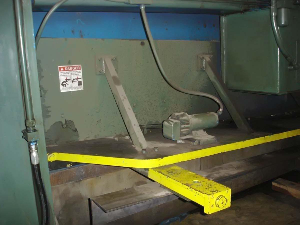 Cincinnati Century, Model 4H10,  1/2″ x 10′ Hydraulic Shear