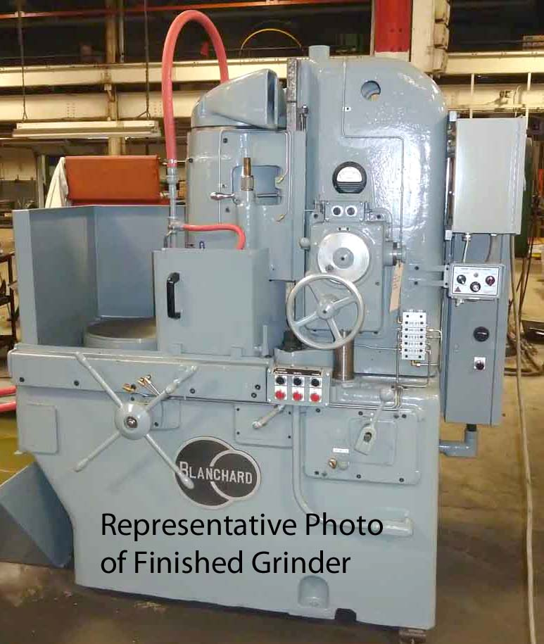 Blanchard #11-20, 20″, Vertical Spindle Rotary Surface Grinder, Remn/1YR War.