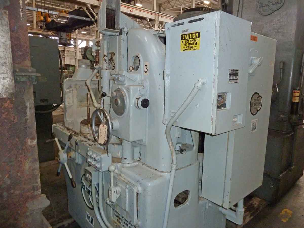 "Blanchard #11-20, 20"", Vertical Spindle Rotary Surface Grinder, Remn/1YR War."