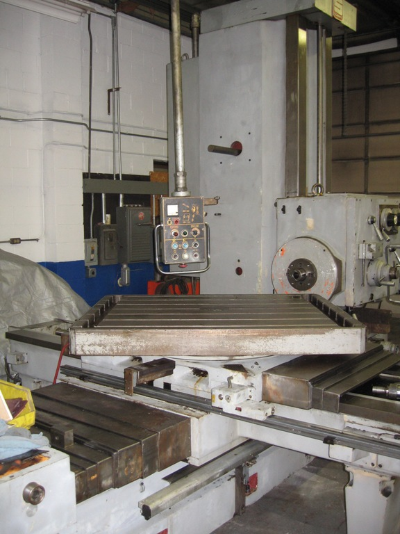 "Summit 3-1/2"" Horizontal Table Type Boring Mill"
