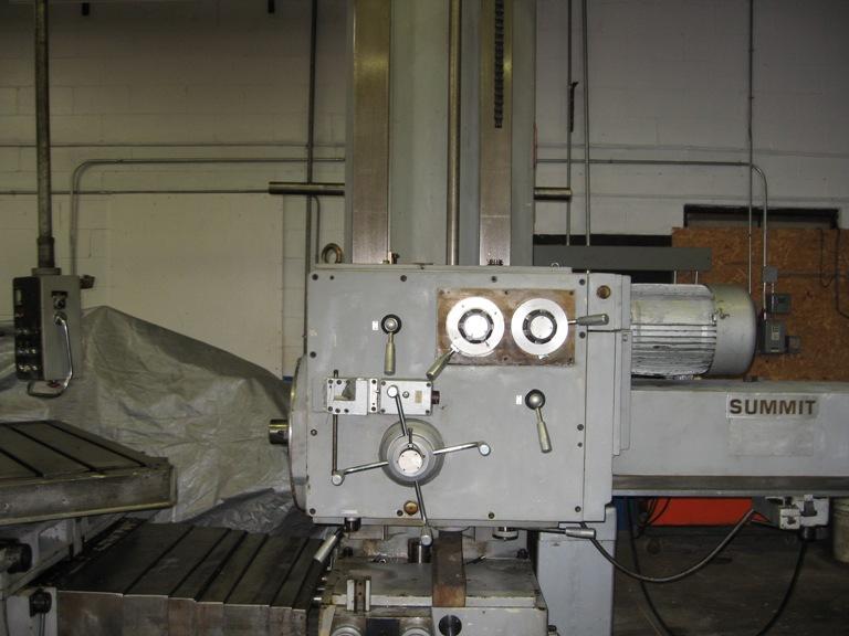 Summit 3-1/2″ Horizontal Table Type Boring Mill