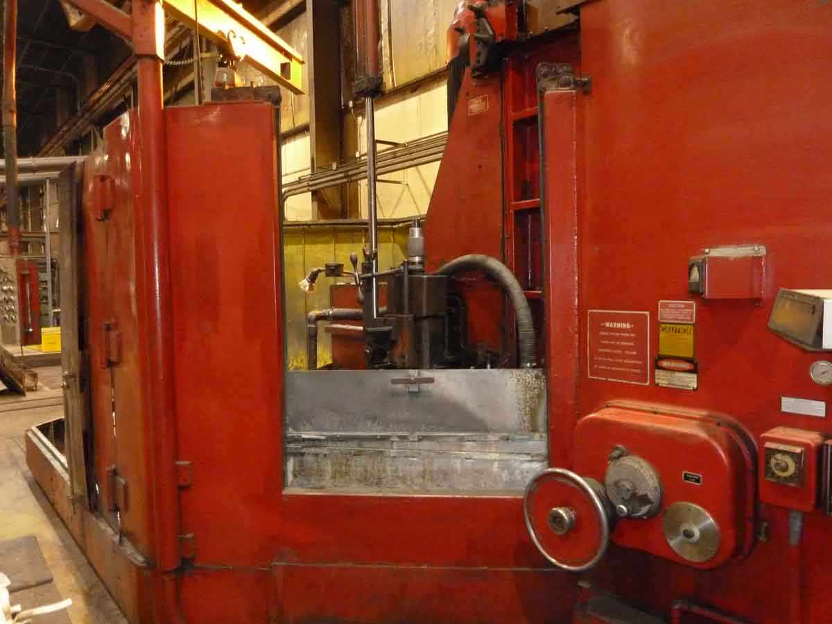 Mattison 120″ Geared Head Vertical Spindle Rotary Surface Grinder