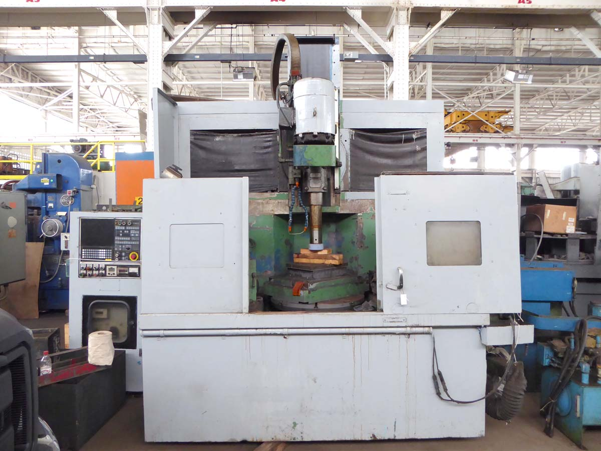 Springfield VGC 25, Universal Vertical Spindle Grinder Rebuilt W/ New A/B PLC System, Warranty