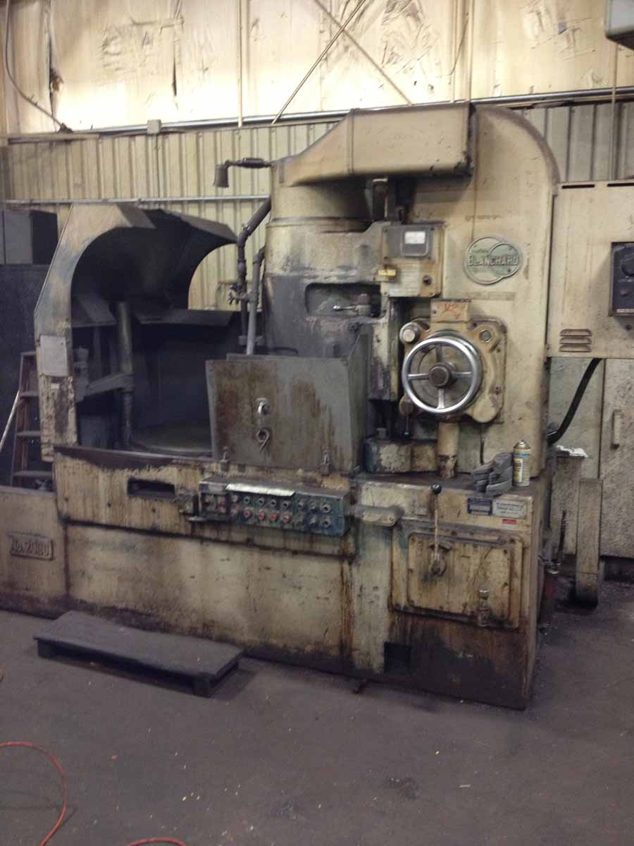Blanchard #20CD-36 Vertical Spindle Rotary Surface Grinder Remanufactured W/ 1 Yr Warranty
