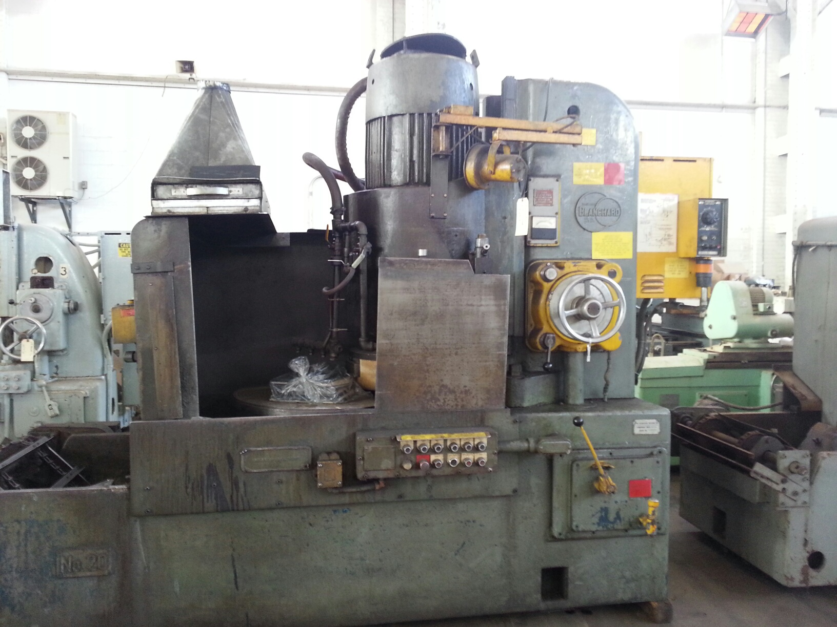 Blanchard #20HK-36, Geared Head Vertical Spindle Rotary Surface Grinder