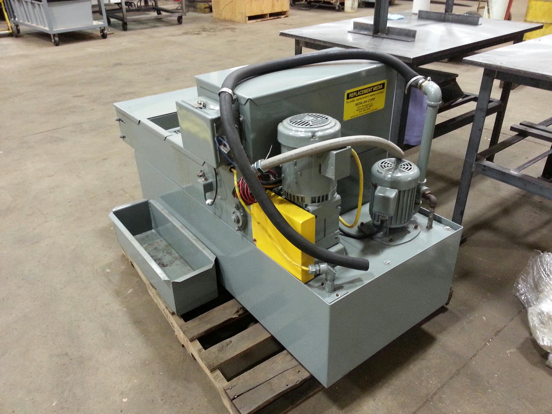 Prab Monlan # PBF-20, Paper Coolant Filtration System