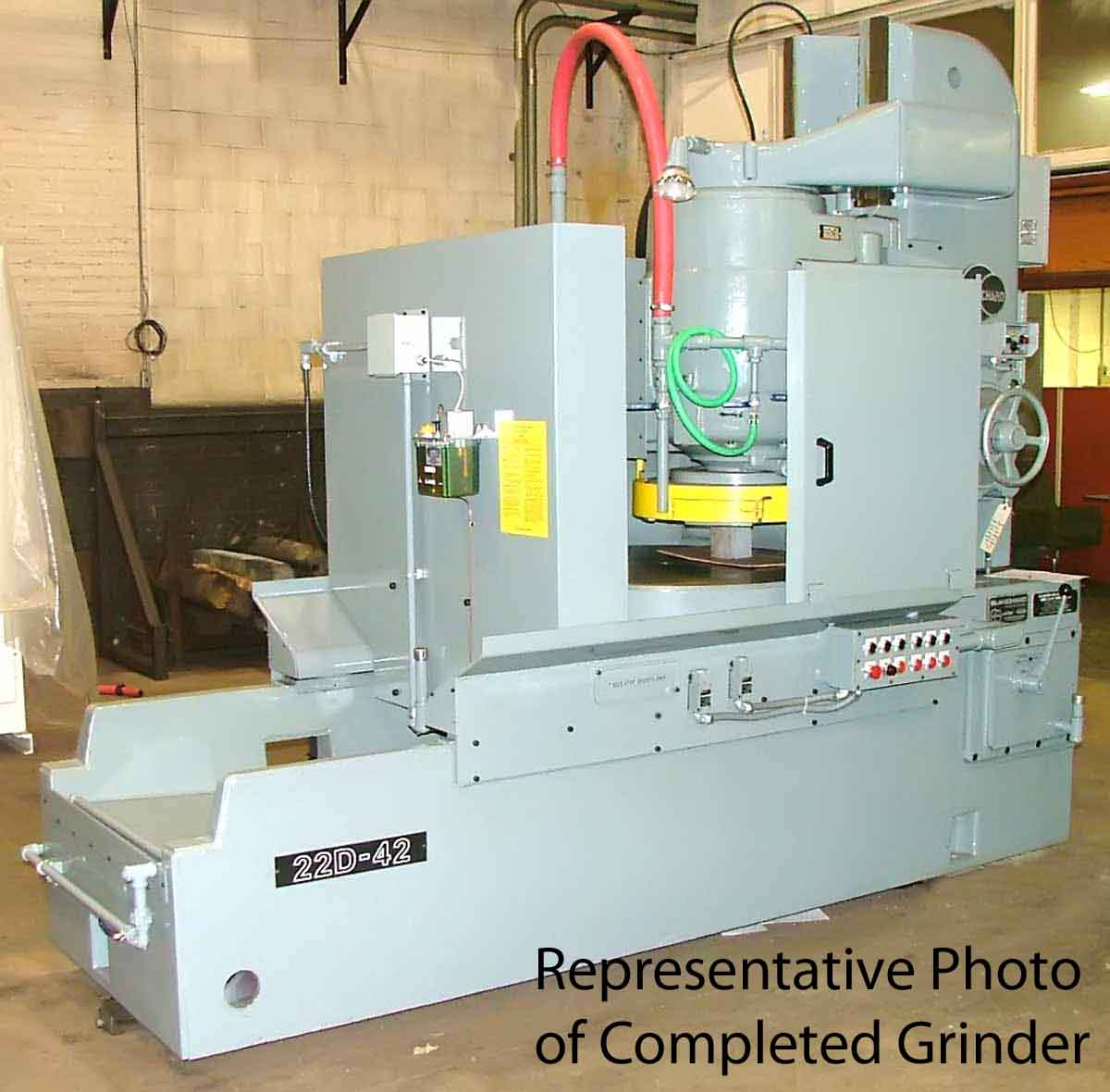 Blanchard #22-42 Vertical Spindle Rotary Surface Grinder, Remanufactured w/Warranty
