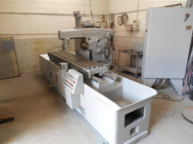 Cincinnati #320-185 Horizontal Simplex Production Milling Machine