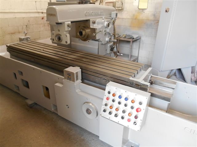 Cincinnati #320-185 Horizontal Simplex Production Milling Machine