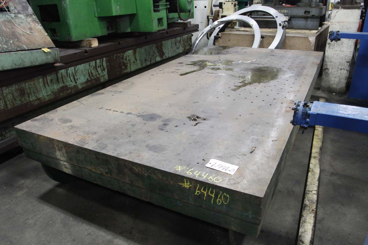 6′ x 12′ Steel Layout Plate