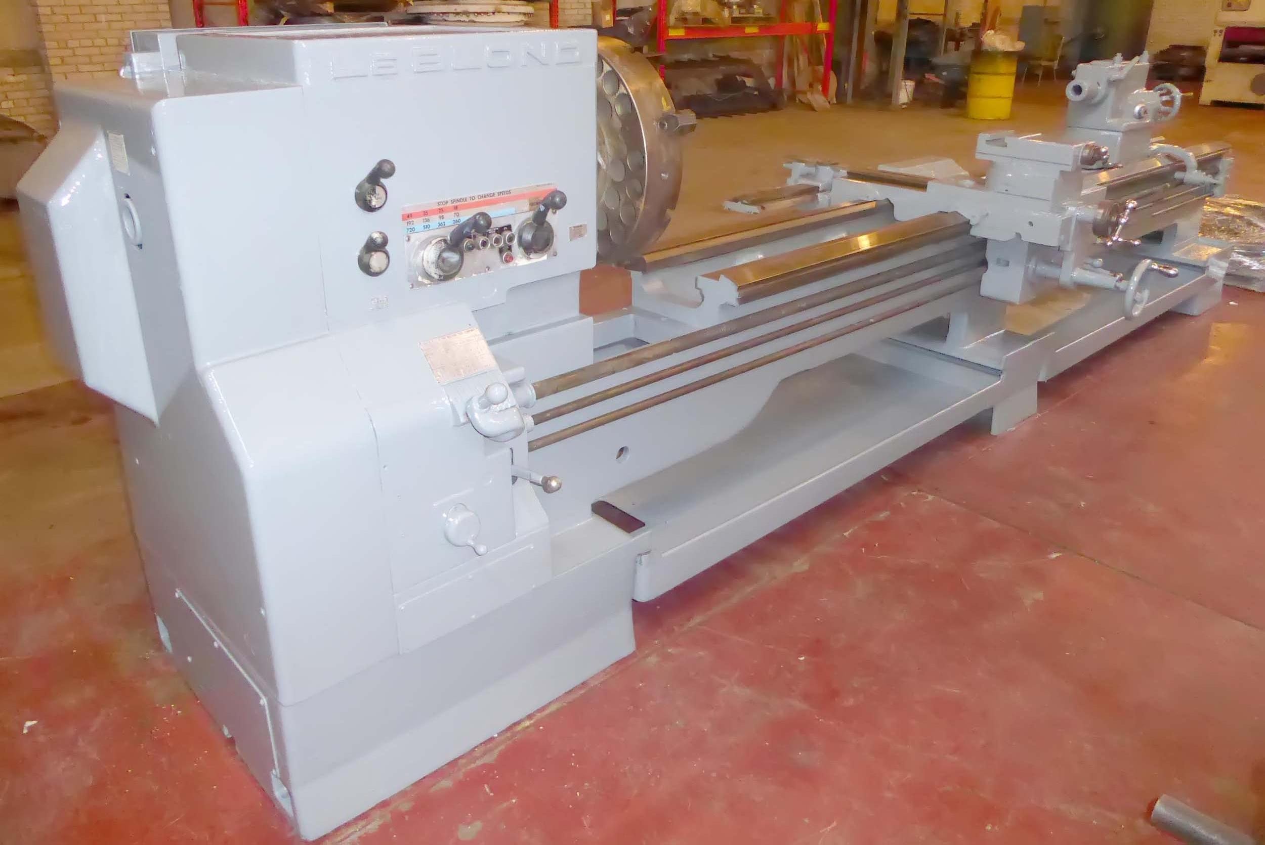 "LeBlond Regal 26"" x 132"" Gap Bed Engine Lathe"