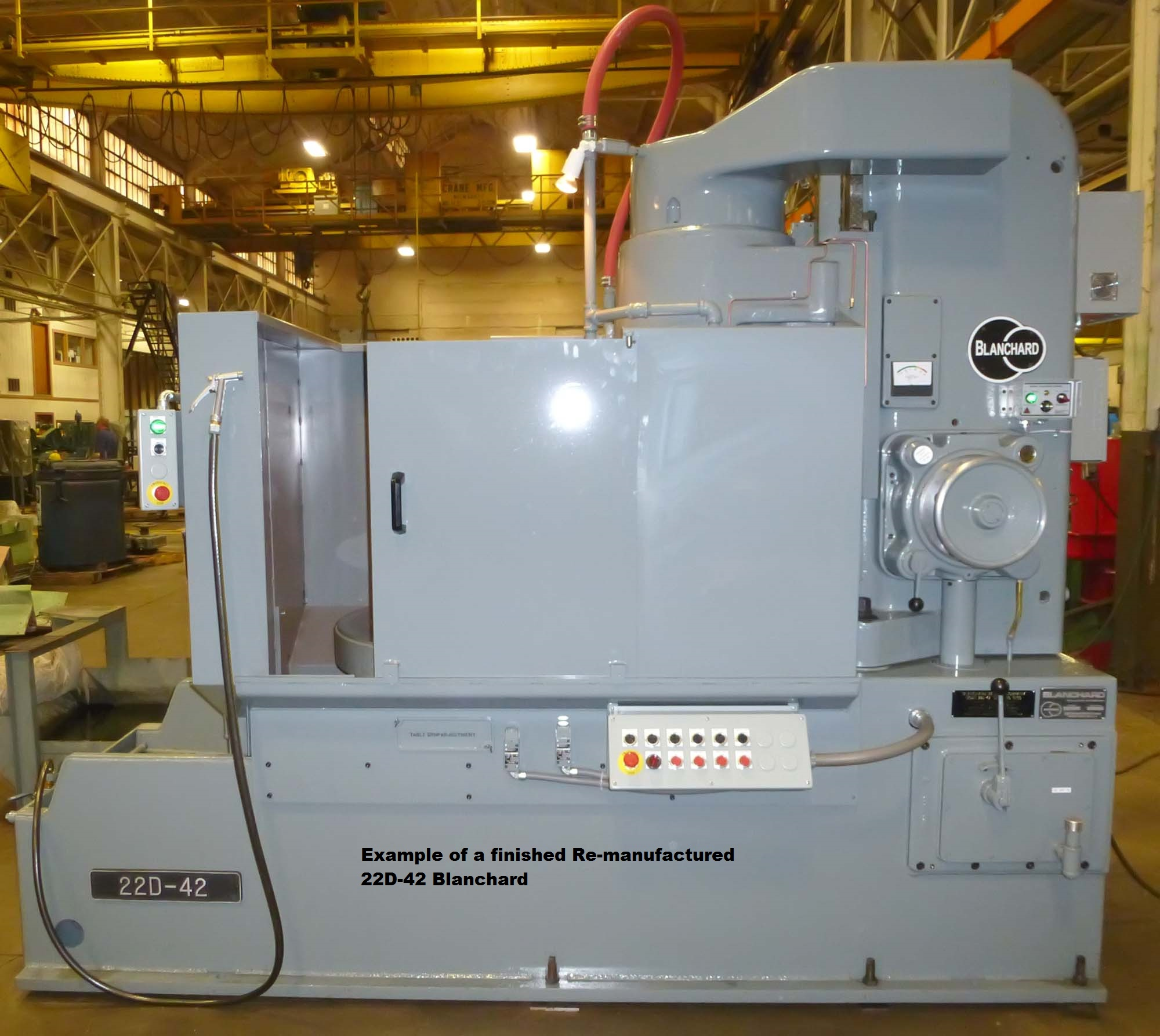 "Blanchard #22D-42, 42"" Vertical Spindle Rotary Surface Grinder"