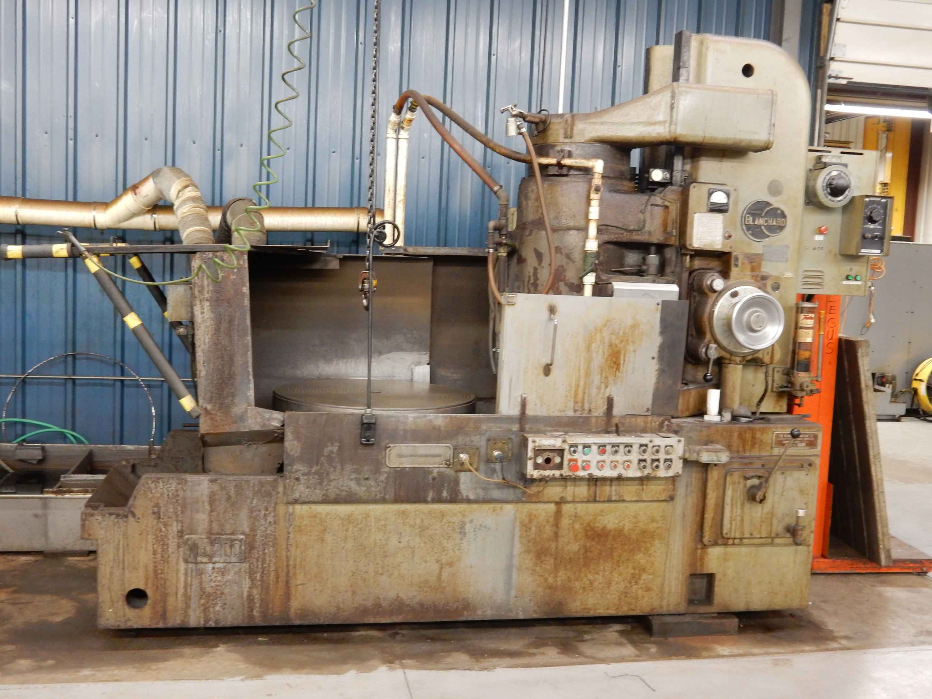 "Blanchard #20C-36, 36"" Vertical Spindle Rotary Surface Grinder"