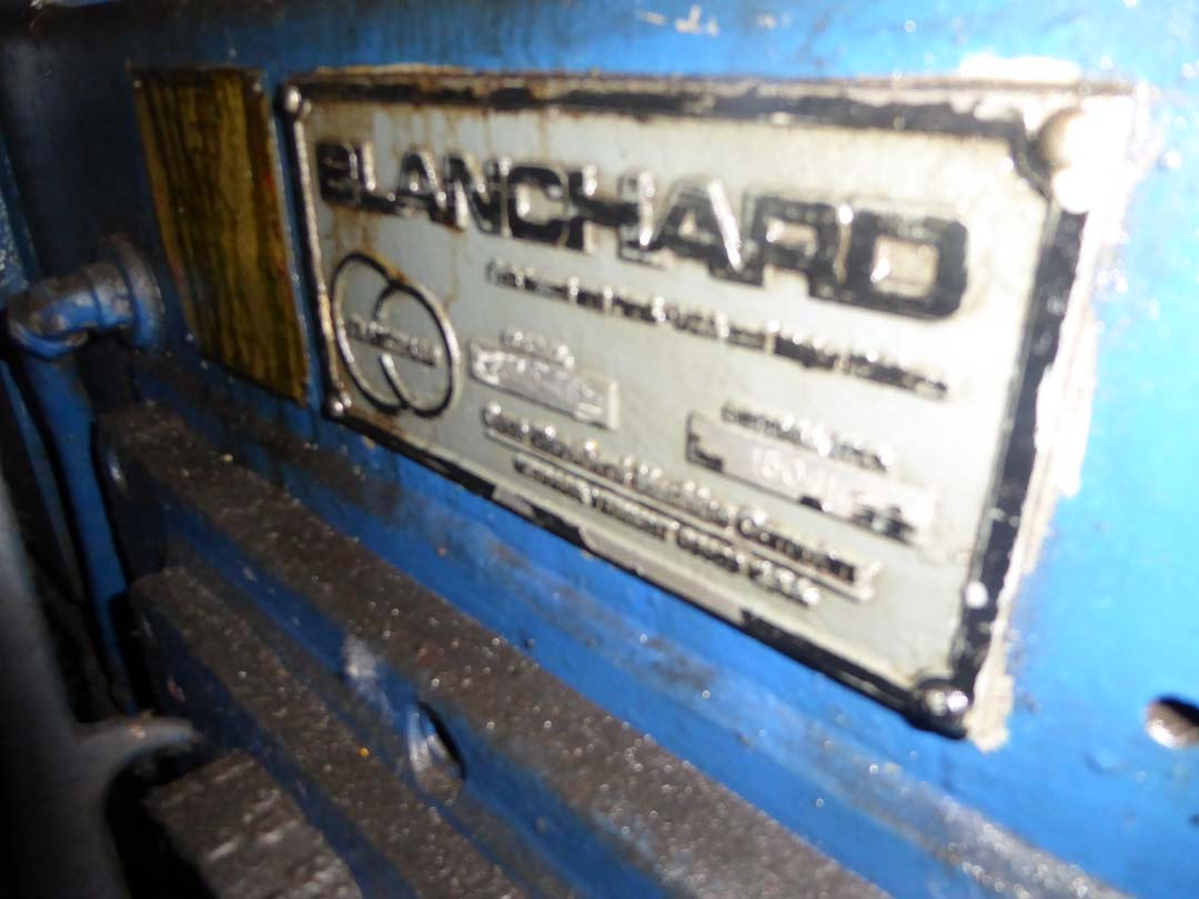 Blanchard #26HD-48, 48″ Vertical Spindle Rotary Surface Grinder