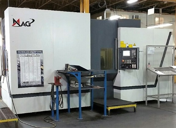 MAG NBH 6+ 4-Axis Horizontal Machining Center