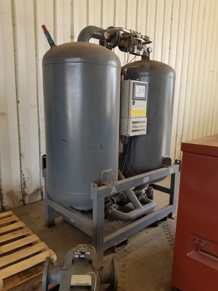 Atlas Copco Desiccant \ Regenerative 1653 cfm Air Dryer
