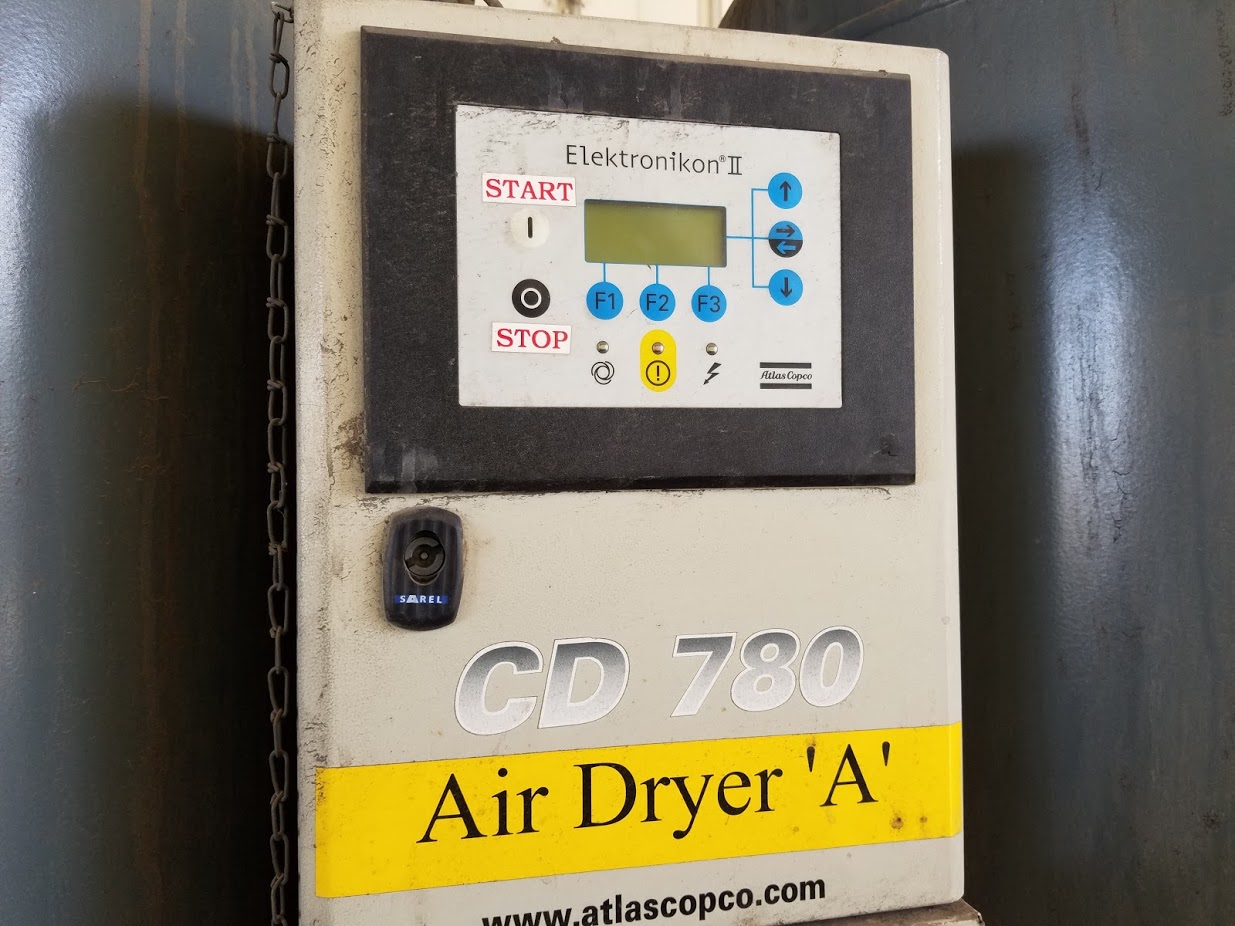 Atlas Copco Desiccant  Regenerative 1653 cfm Air Dryer