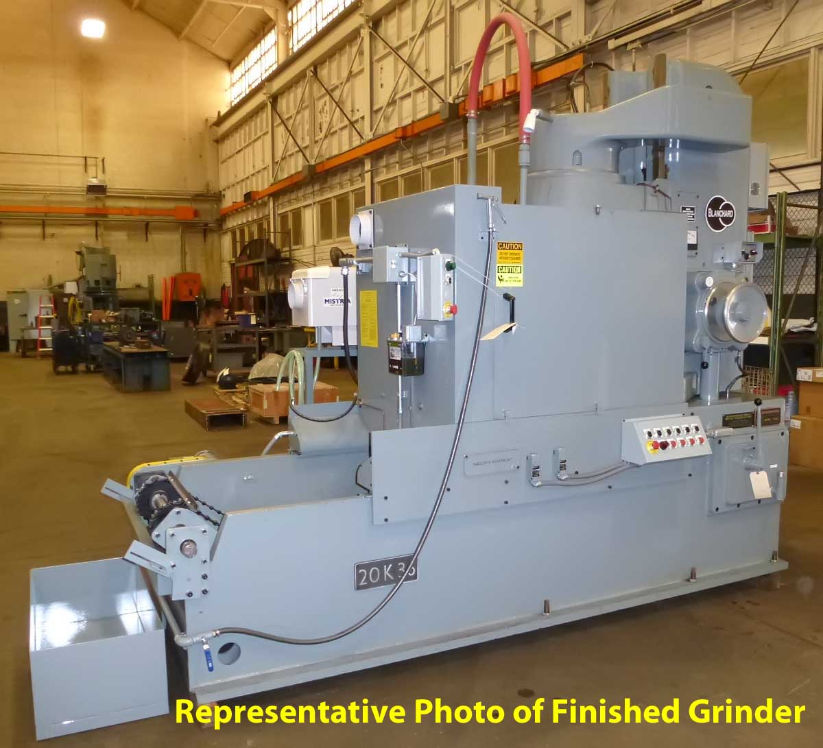 "Blanchard #22K-42, 42"" Vertical Spindle Rotary Surface Grinder"