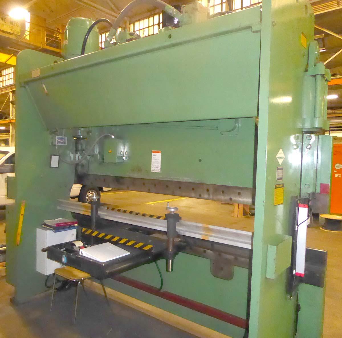Cincinnati 135CB10, CNC Hydraulic Press Brake W/ New Zakron