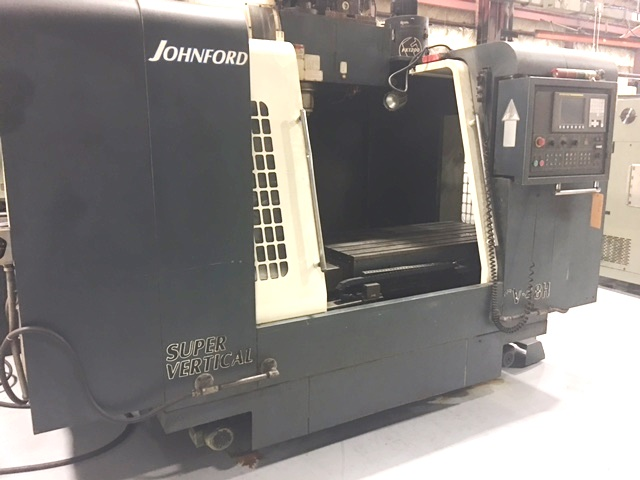 Johnford #SV 48H CNC Vertical Machining Center