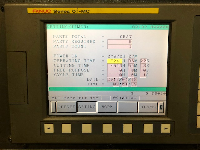 Johnford #SV 48H CNC Vertical Machining Center