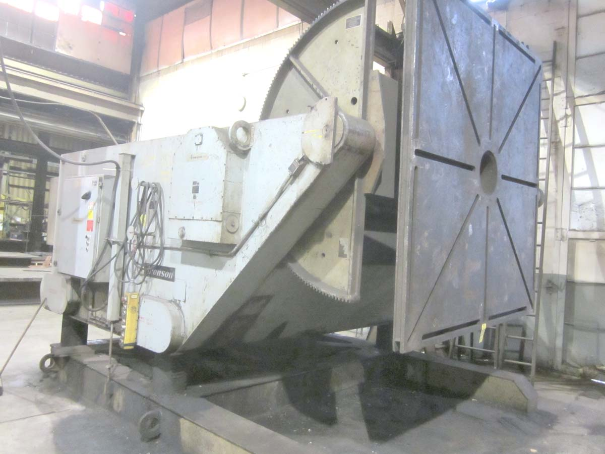 Aronson 85,000 LBS. Model GE-850 Welding Positioner w/ Geared Elevation