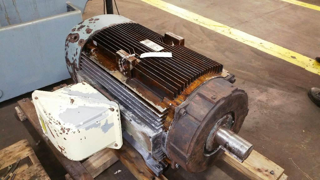 General Electric 300 HP Blanchard Motor
