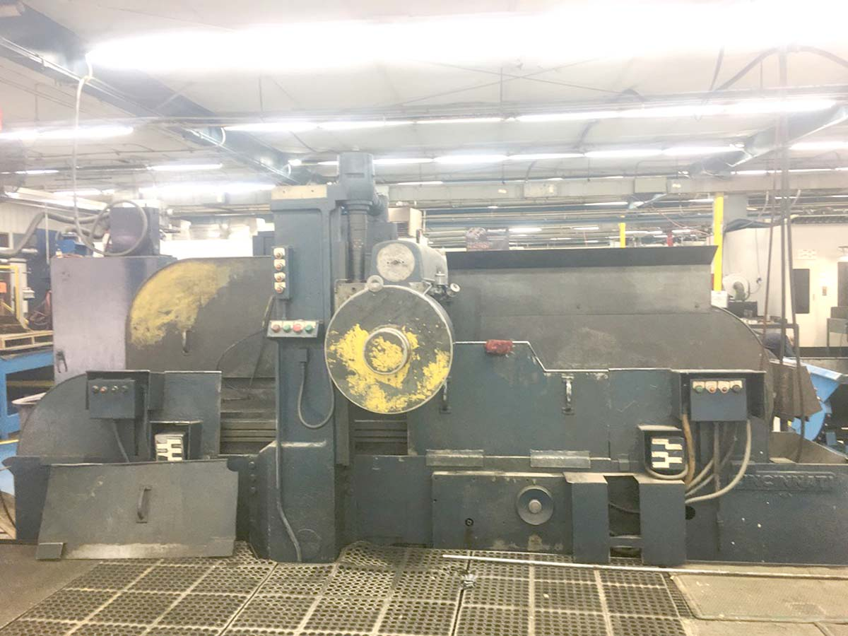 Cincinnati #550-266 Horizontal R&F Simplex Production Mill