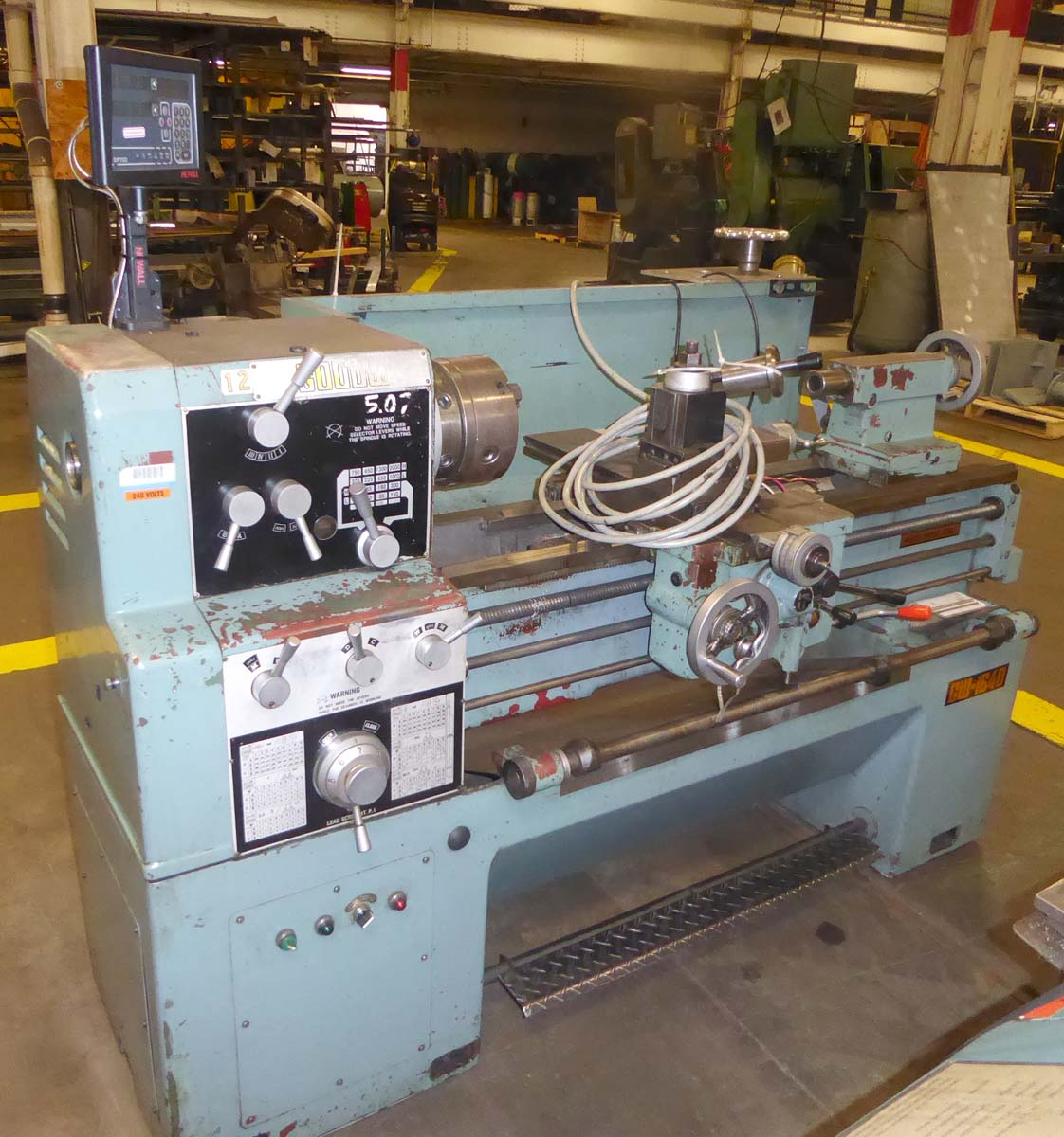 "Goodway 16"" x 40"" Engine Lathe"