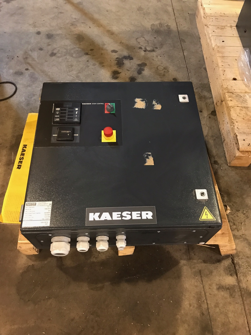 New 20 Hp Kaeser BB89C Blower unit
