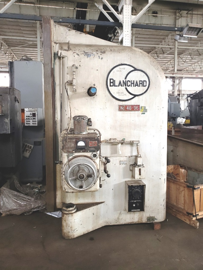 Blanchard #48D-96, 96″ Vertical Spindle Rotary Surface Grinder