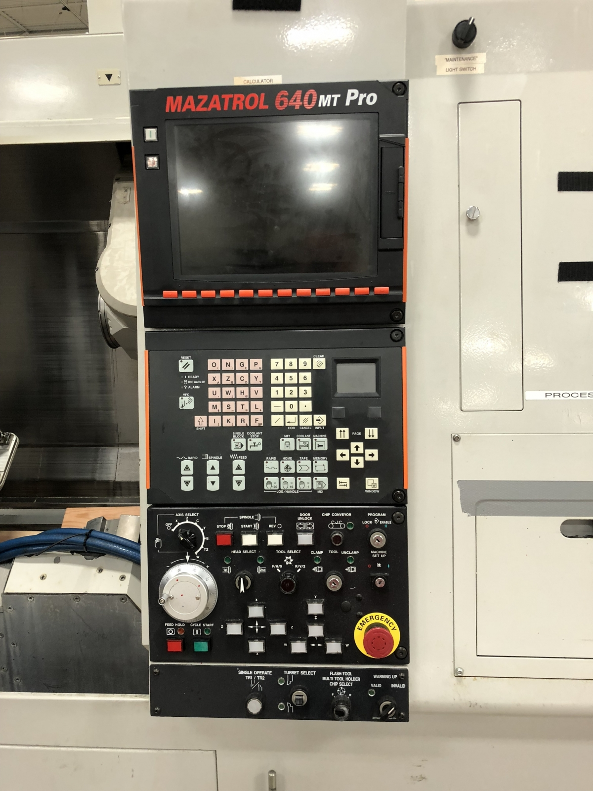 Mazak Integrex 100-III ST Horizontal CNC Lathe
