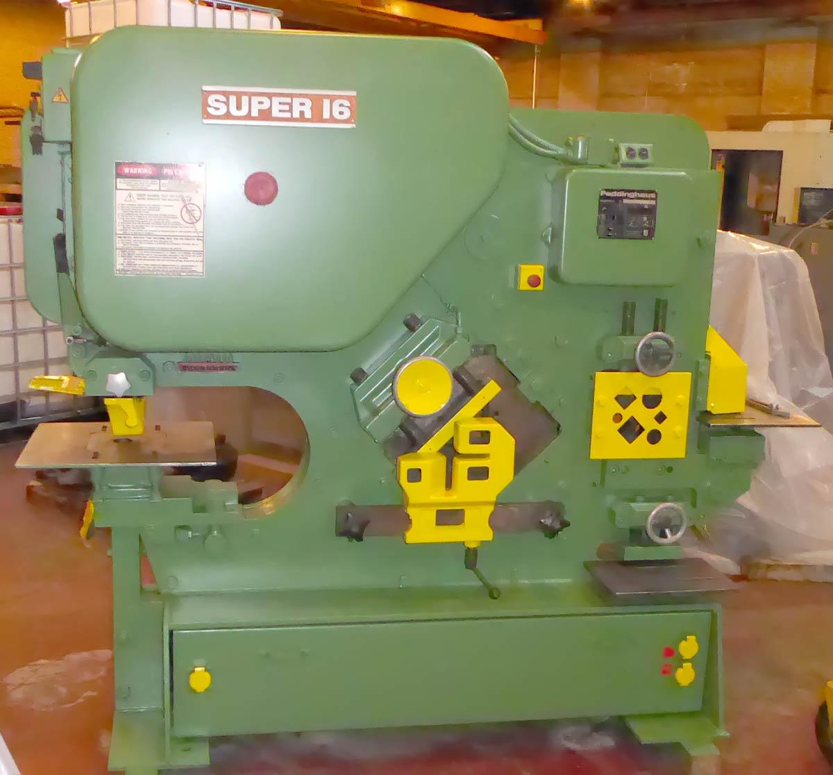Peddinghaus 210 Super 16, 88 Ton Mechanical Iron Worker