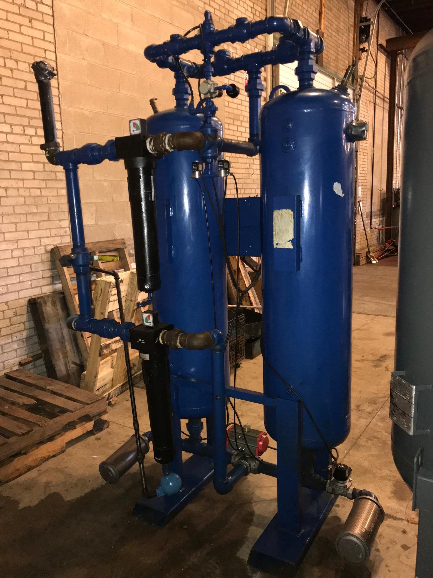550 cfm Heatless Dual Tower Desiccant Air Dryer