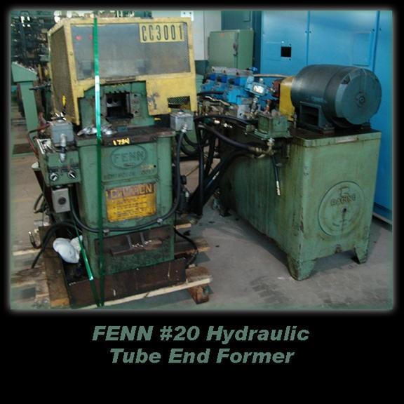 Fenn #20 Hydraulic Tube End Former