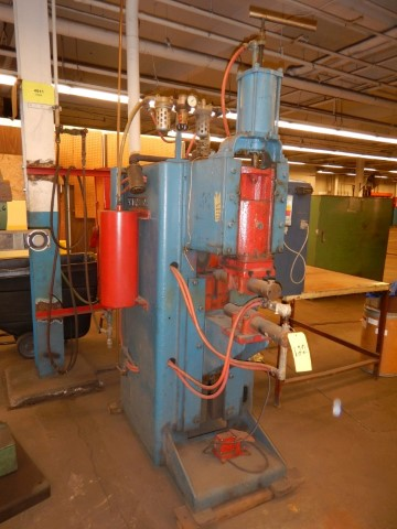 150 KVA Thompson spot welder w/ Technitron control 22