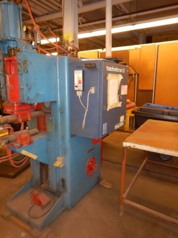 "150 KVA Thompson spot welder w/ Technitron control 22"" throa"