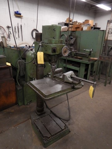 BOICE CRANE Column Drill Press, Model: GS30/2