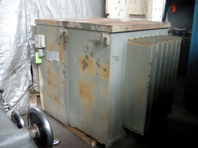 Westinghouse 300 kVA Three Phase Transformer