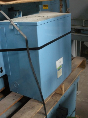 General Signal 34 kVA Three Phase Transformer