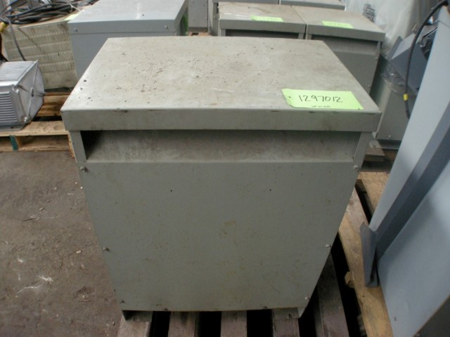 General Electric 27 kVA Three Phase Transformer