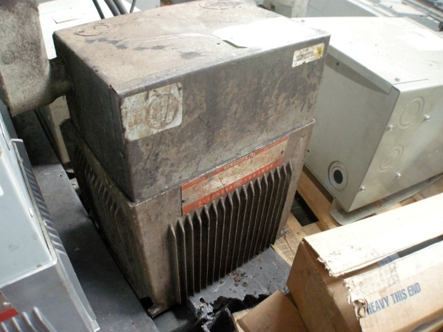 General Electric 15 kVA Single Phase Transformer