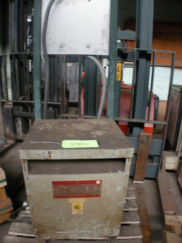 General Electric 15 kVA Three Phase Transformer