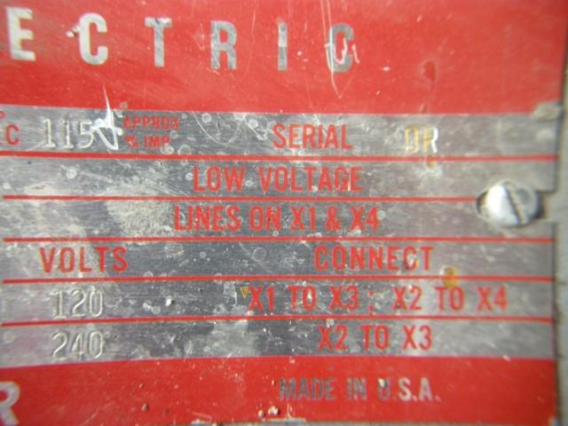 General Electric 5 kVA Single Phase Transformer