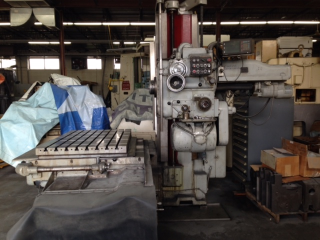 "4"" Devlieg 4B-60 Horizontal Boring Mill"