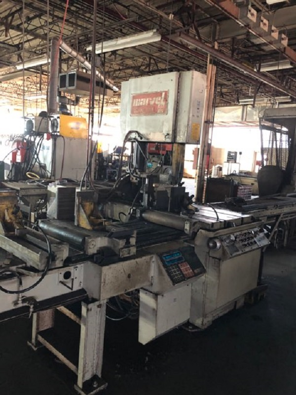"18"" x 20"" Marvel 81A/10 Vertical Automatic Bandsaw"