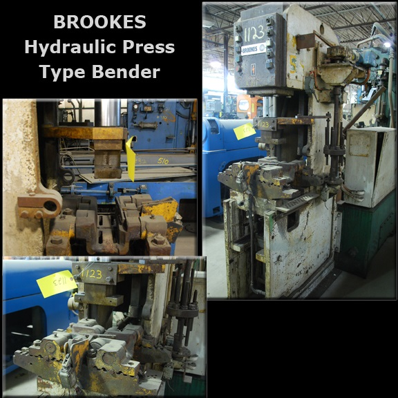BROOKES #1922 Hydraulic Press