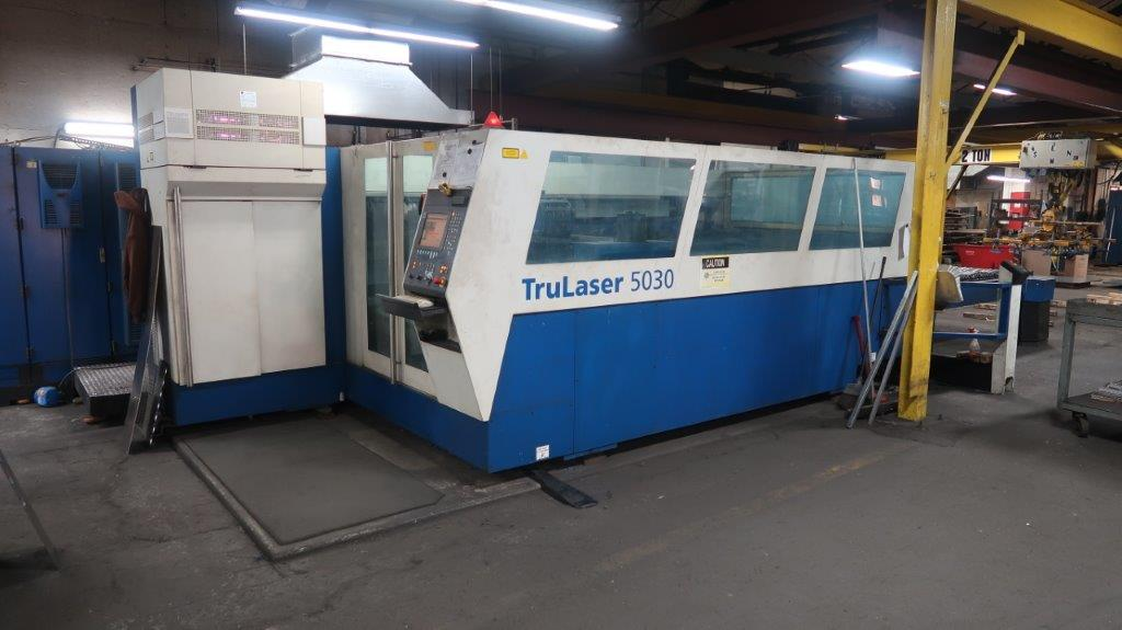 Trumpf 5000-Watt Laser, Model: 5030 L20