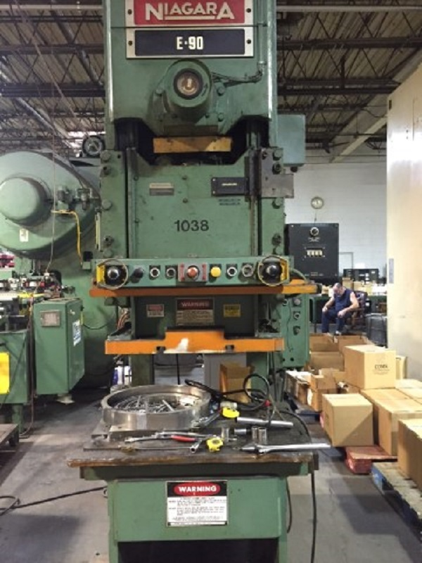 Niagara E-90-S Ton Gap Press